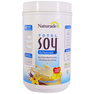 Naturade, Total Soy Meal Replacement, French Vanilla, 37.1 oz (1.053