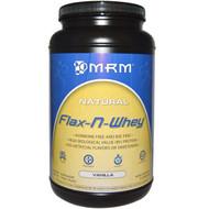 MRM, Flax-N-Whey, Vanilla, 1.99 lbs (904 g)