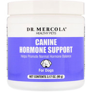 Dr. Mercola, Healthy Pets, Canine Hormone Support, For Dogs, 3.17 oz (90 g)