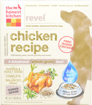 The Honest Kitchen Revel Dehydrated Dog Food for Puppies & Adult Dogs Chicken - 4 lbs