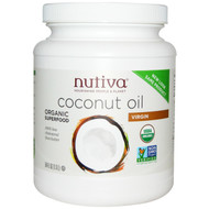 Nutiva, Organic Coconut Oil, Virgin, 54 fl oz (1.6 L)
