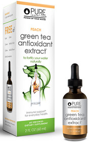 Pure Inventions, Green Tea Antioxidant Extract,  Peach - 2 fl oz