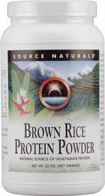 Source Naturals Brown Rice Protein Powder - 32 oz