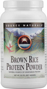Source Naturals Brown Rice Protein Powder - 32 oz