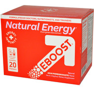 EBoost Super Powder Mind and Body Energizer Acai Pomegranate - 20 Packets