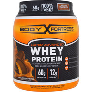 Body Fortress, Super Advanced Whey Protein Powder, Chocolate Peanut Butter, 2 lbs (907 g)