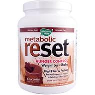 Natures Way, Metabolic Reset, Weight Loss Shake, Chocolate, 1.4 lbs (630 g)