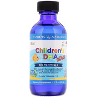 Nordic Naturals, Childrens DHA Xtra, Berry Punch, 2 fl oz (60 ml)