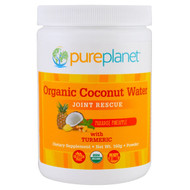 Pure Planet, Organic Coconut Water, Joint Rescue, Paradise Pineapple , 160 g