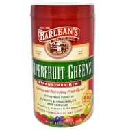 Barlean's Superfruit Greens Powder Formula Strawberry Kiwi - 9.52 oz
