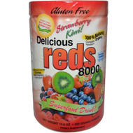 Greens World Inc. Delicious Reds 8000 Strawberry Kiwi - 10.6 oz