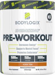 Bodylogix Energizing Pre-Workout Iced Tea - 30 Servings