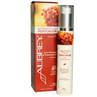 Aubrey Organics, Age-Defying Therapy Moisturizer, All Skin Types, 1.7 fl oz (50 ml)