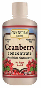 Only Natural Cranberry Concentrate - 32 fl oz