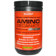 MuscleMeds, Amino Decanate, Professional Strength Amino Acid Formula, Citrus Lime, 12.7 oz (360 g)