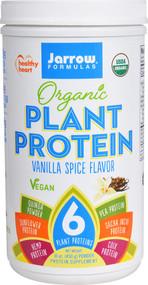 Jarrow Formulas Organic Plant Protein Vanilla Spice - 16 oz