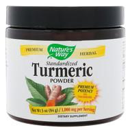 Natures Way, Standardized Turmeric Powder, 1,000 mg, 3 oz (84 g)