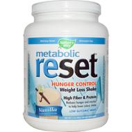 Natures Way, Metabolic Reset, Hunger Control, Weight Loss Shake, Powder, Vanilla, 1.4 lbs (630 g)