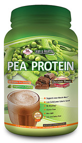 Olympian Labs, Lean & Healthy Pea Protein, Chocolate, 1.7 lbs (784 g) (Discontinued Item)