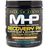 Maximum Human Performance, Recovery PM, All-In-One Sleep & Recovery Formula, Mango Nectar, 4.76 oz (135 g)