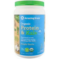 Amazing Grass Organic Protein & Kale Simply Vanilla -- 15 Servings