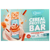 Quest Nutrition, Beyond Cereal Protein Bar, Cinnamon Roll, 15 Bars, 1.34 oz (38 g) Each