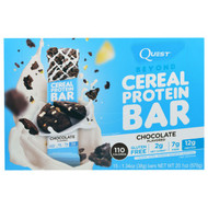 Quest Nutrition, Beyond Cereal Protein Bar, Chocolate, 15 Bars, 1.34 oz (38 g) Each