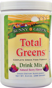 Sunny Green Total Greens Drink Mix Natural Berry - 9.4 oz