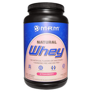 MRM, Natural Whey Protein, Strawberry, 2 lbs (908 g)