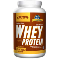 Jarrow Formulas, 100% Natural Whey Protein, Chocolate, 32 oz (908 g) Powder