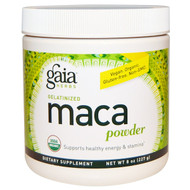 Gaia Herbs, Gelatinized Maca Powder, 8 oz (227 g)