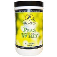 Mt. Capra, Peas & Whey, Natural Vanilla, 1 lb (453 g)
