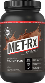 MET-Rx Protein Plus Powder Chocolate -- 2 lbs