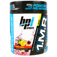 BPI Sports, 1.M.R., One. More. Rep, Pre-Workout Powder, Fruit Punch, 8.5 oz (240 g)