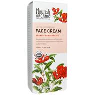Nourish Organic, Face Cream, Argan + Pomegranate, 1.7 fl oz (50 ml)
