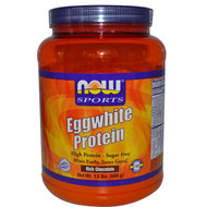 NOW Foods Sports Eggwhite Protein Rich Chocolate - 1.5 lbs