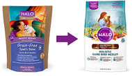 Halo Purely For Pets Spots Stew Healthy Weight Grain Free Adult Cat Formula Game Bird Medley - 6 lbs