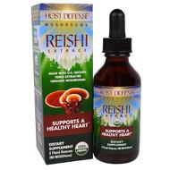Fungi Perfecti, Host Defense Mushrooms, Organic Reishi Extract, Supports A Healthy Heart, 2 fl oz (60 ml)