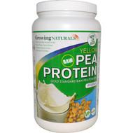 Growing Naturals, Yellow Raw Pea Protein, Original, 32.2 oz (912 g)