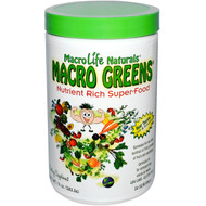 Macrolife Naturals, Macro Greens, Nutrient Rich Super-Food, 10 oz (283.5 g)