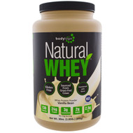 Bodylogix, Natural Whey, Whey Protein Powder, Vanilla Bean, 30 oz (840 g)
