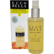 Ecco Bella, Mist-On Toner, 2, 4 fl oz (125 ml)