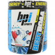 BPI Sports Best BCAA with Energy Rainbow Ice -- 25 Servings