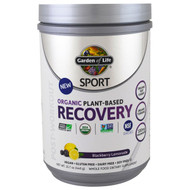 Garden of Life, Sport, Organic Plant-Based Recovery, Blackberry Lemonade, 15.7 oz (446 g)