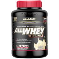 ALLMAX Nutrition, AllWhey Gold, 100% Whey Protein + Premium Whey Protein Isolate, French Vanilla, 2 lbs. (907 g)