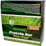 Greens Plus +plusbar Protein Whey Krisp - 12 Bars