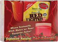 Natures Plus Source of Life Red Lightning Antioxidant Energy Drink - 20 Packets
