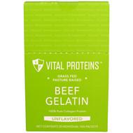 Vital Proteins Beef Gelatin 100% Pure Collagen Protein Unflavored - 20 Packets