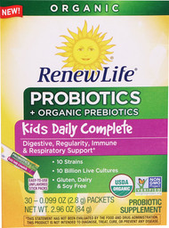 Renew Life Kids Daily Complete Probiotics Unflavored - 30 Packets
