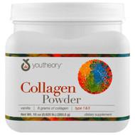 Youtheory, Collagen, Vanilla Powder, 10 oz (283.5 g)